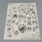spider man ps4 vip press kit skizzen