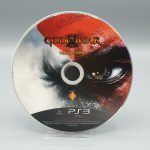 god of war III press kit ps3 media disc