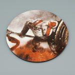 god of war ghost of sparta press kit psp coaster