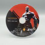 god of war ghost of sparta press kit psp media asset disc