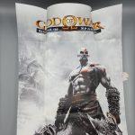 god of war ghost of sparta press kit psp poster innenseite